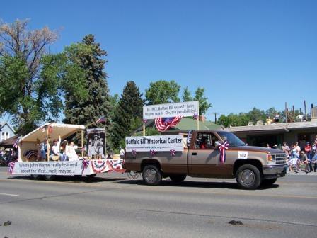 Cody Wyoming 4th Of July Parade 7 4 07